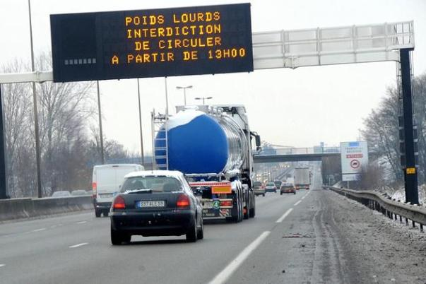 Oui mais pas de taxe sur l'autoroute