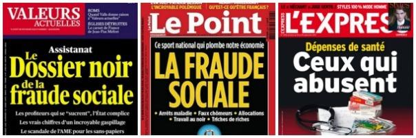 Unes, fraudes sociales
