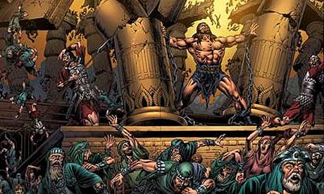 Samson in the Kingstone Graphic Bible