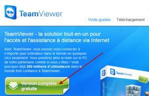 Téléchargement TeamViewer