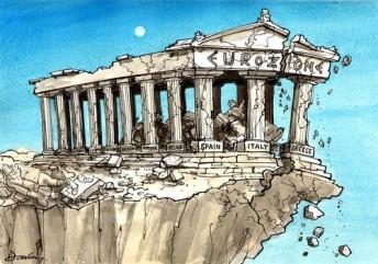 crise-grecque-eurozone-crumbling